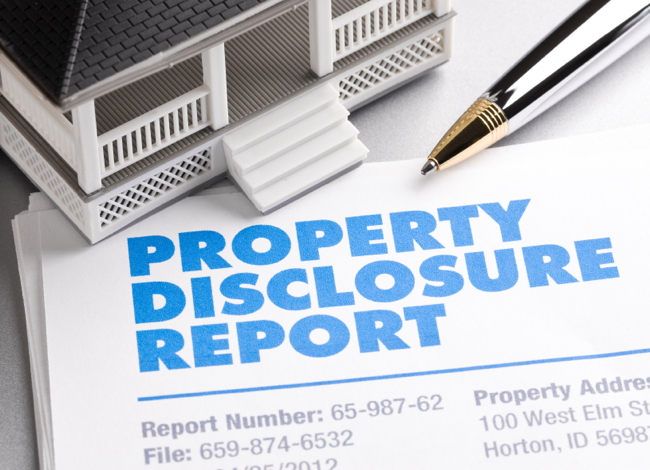 Portland Real Estate Disclosures