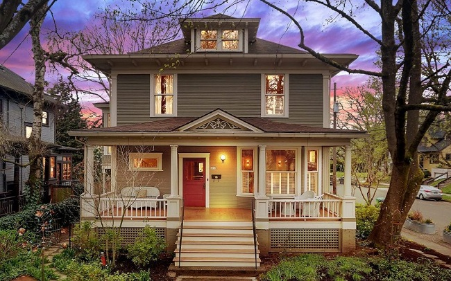 classic craftsman homes in portland